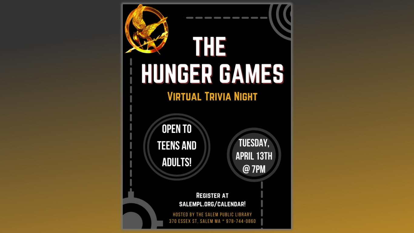 The Hunger Games Virtual Trivia Night!