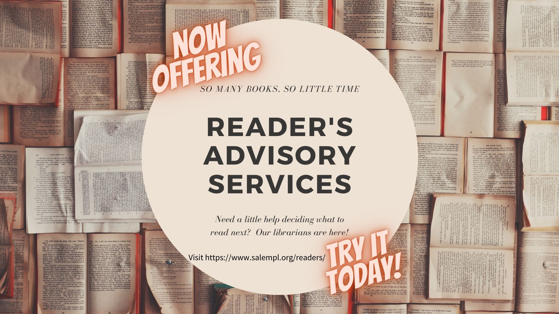 Reader's Advisory Services